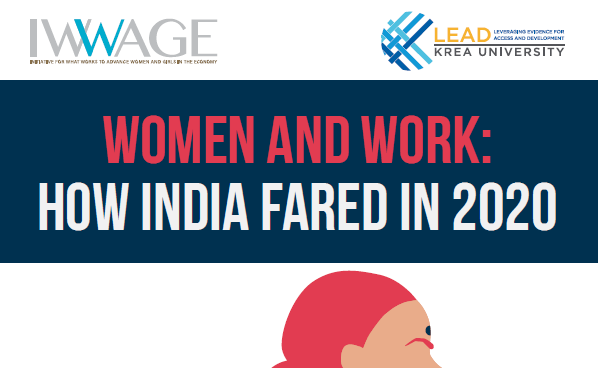 Women In Work: How India Fared In 2020; IWWAGE India's Report